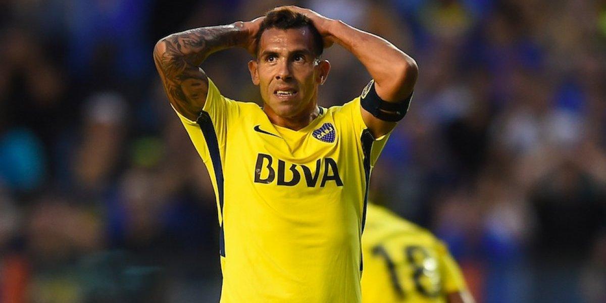 Carlos Tévez se lesiona durante un partido en la cárcel