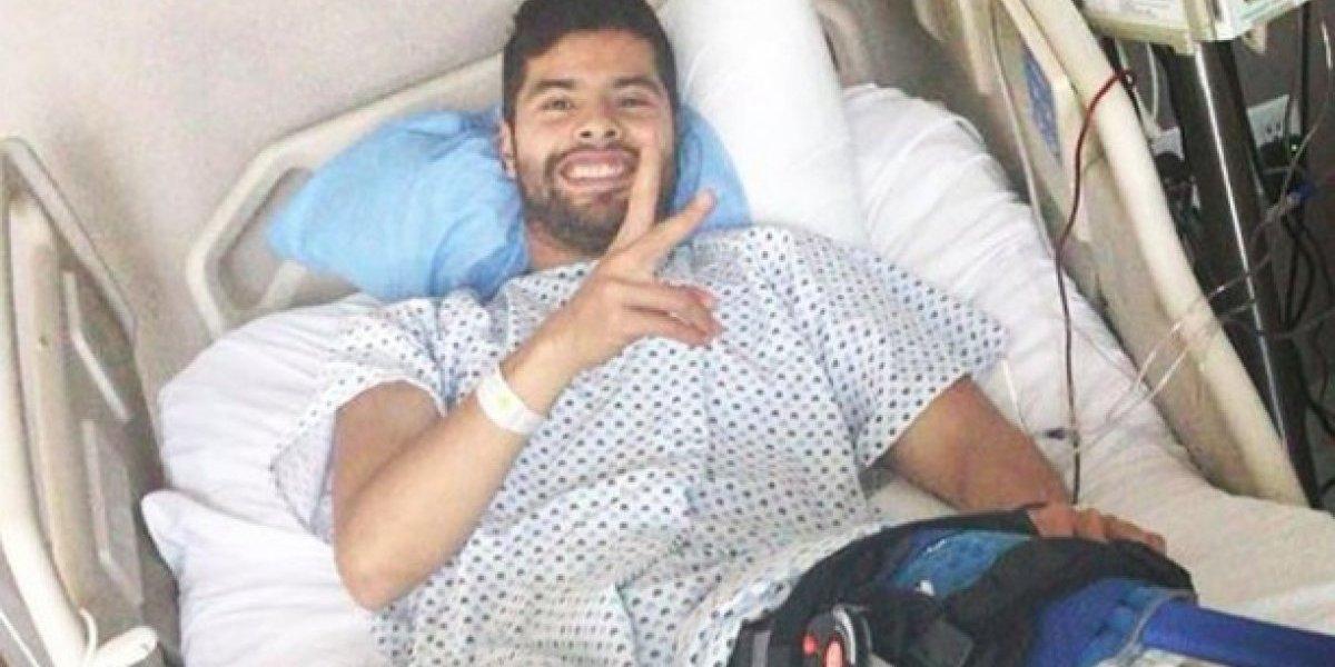 El mensaje de Néstor Araujo tras su lesión