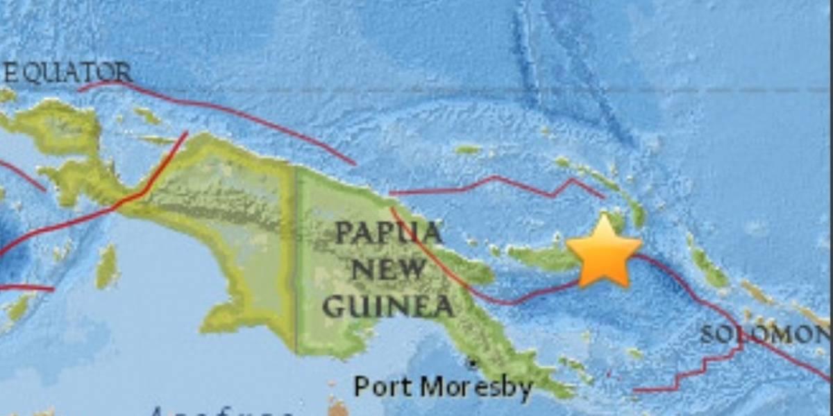 Alerta de tsunami tras un fuerte sismo de magnitud 6.9 en Papúa Nueva Guinea