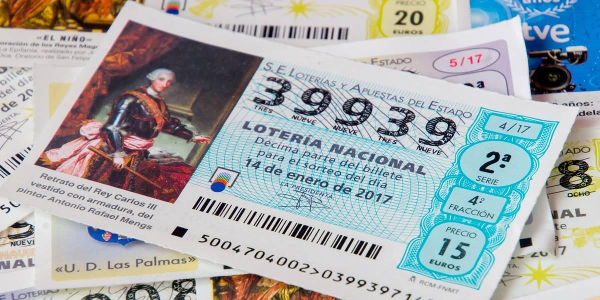 Compra su primer boleto de lotería y gana dinero de por vida