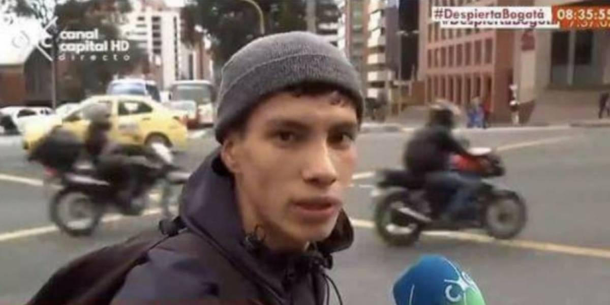 """Video: Netflix contrató al ciclista del video """"no sé, de pronto me gusta la adrenalina"""""""