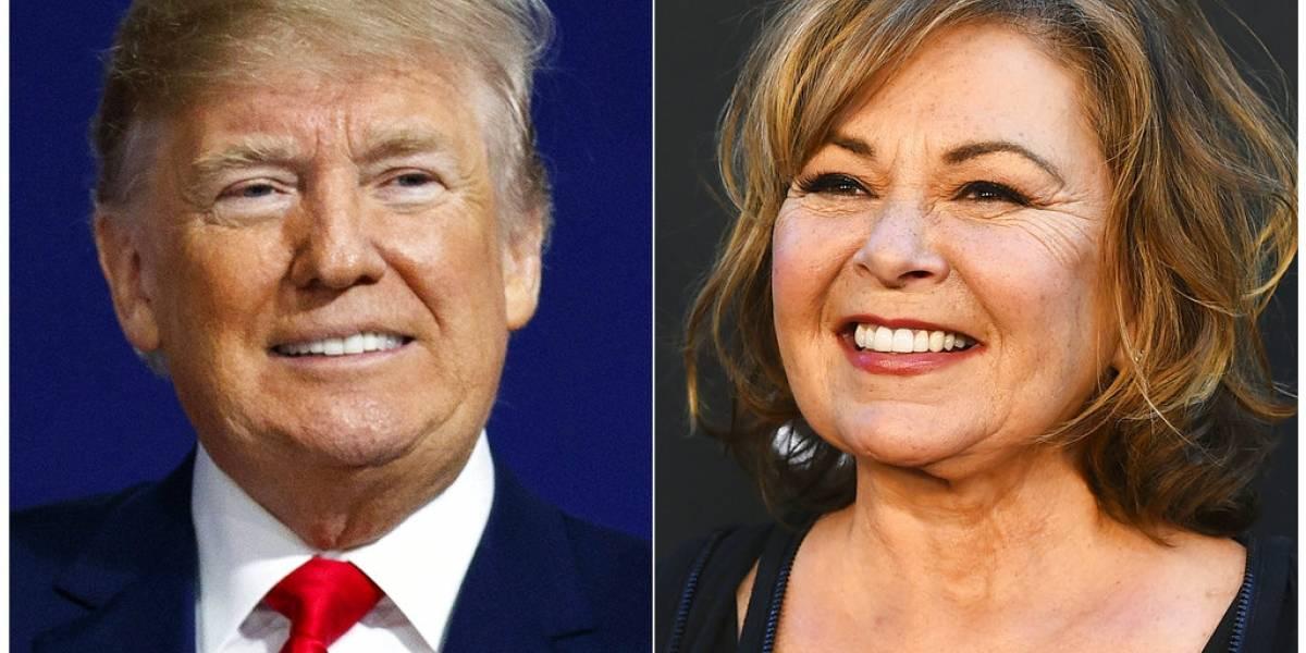La llamada de Trump a Roseanne Barr que subió rating de programa de BBC