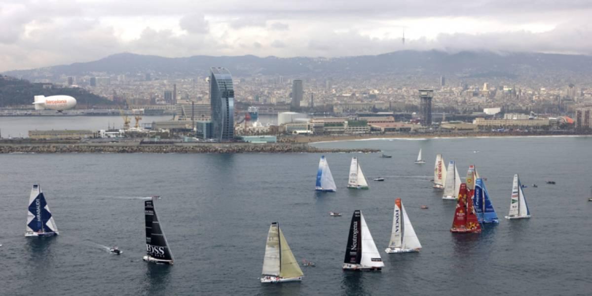 Suspendida la Barcelona World Race, afectada por la inestabilidad política
