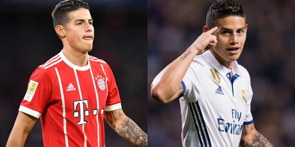 ¿James Rodríguez regresaría al Real Madrid con nuevo entrenador?