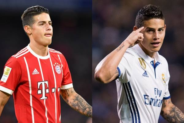 James Rodríguez regresaría al Real Madrid
