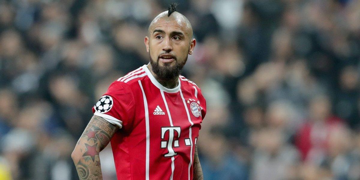 Con un ojo en Munich y otro en Madrid: El enojo de Vidal tras el polémico penal del Real ante Juventus