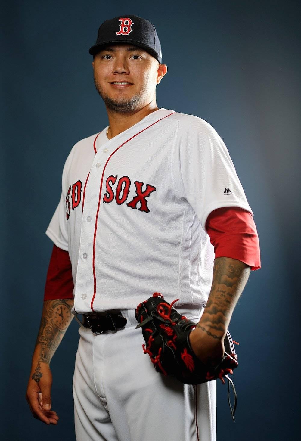Héctor Velázquez, Medias Rojas de Boston / Getty Images