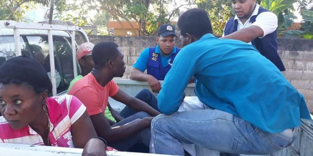 Migración detiene más de 200 extranjeros en Las Terrenas