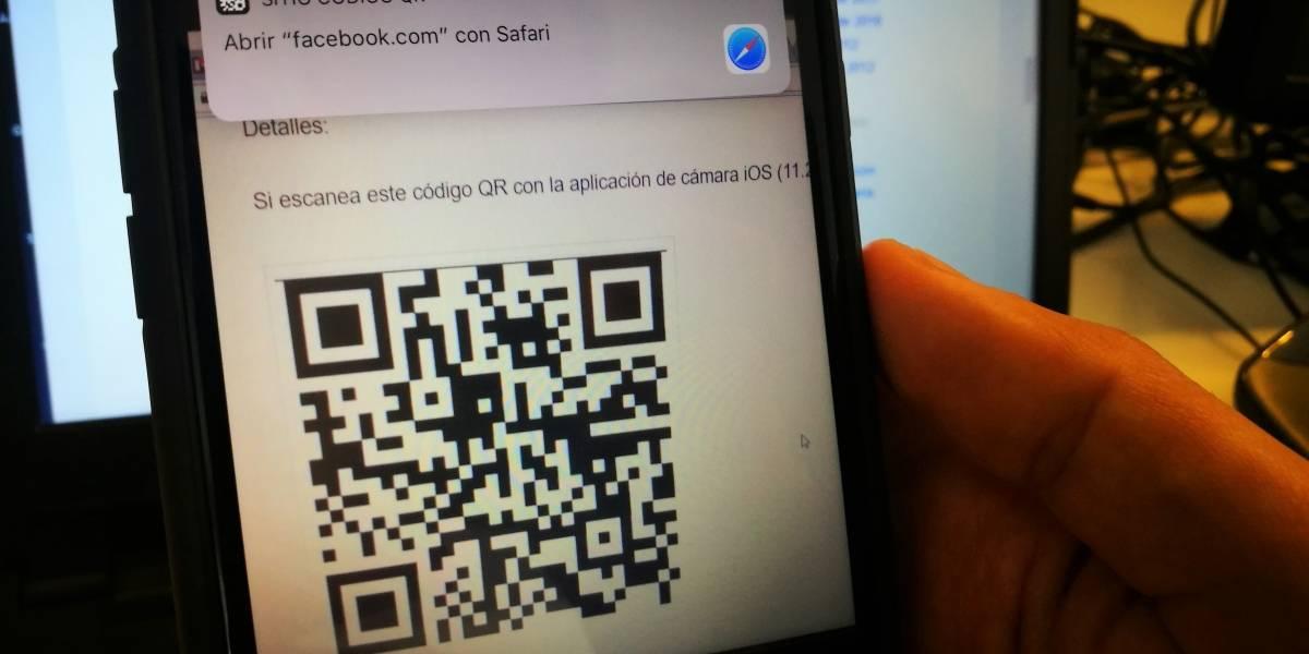 Hackeo a lector de códigos QR de iOS amenaza a usuarios de Apple