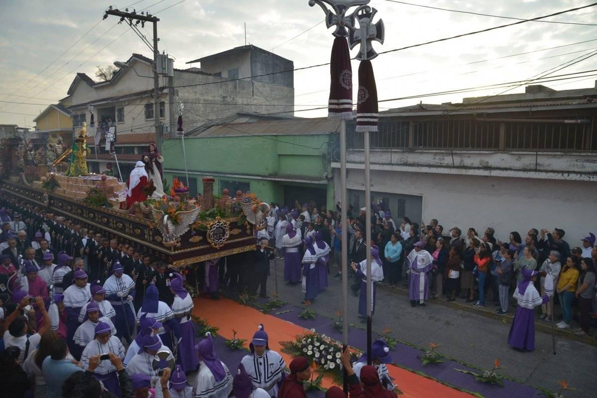 procesión Cristo Rey, Candelaria