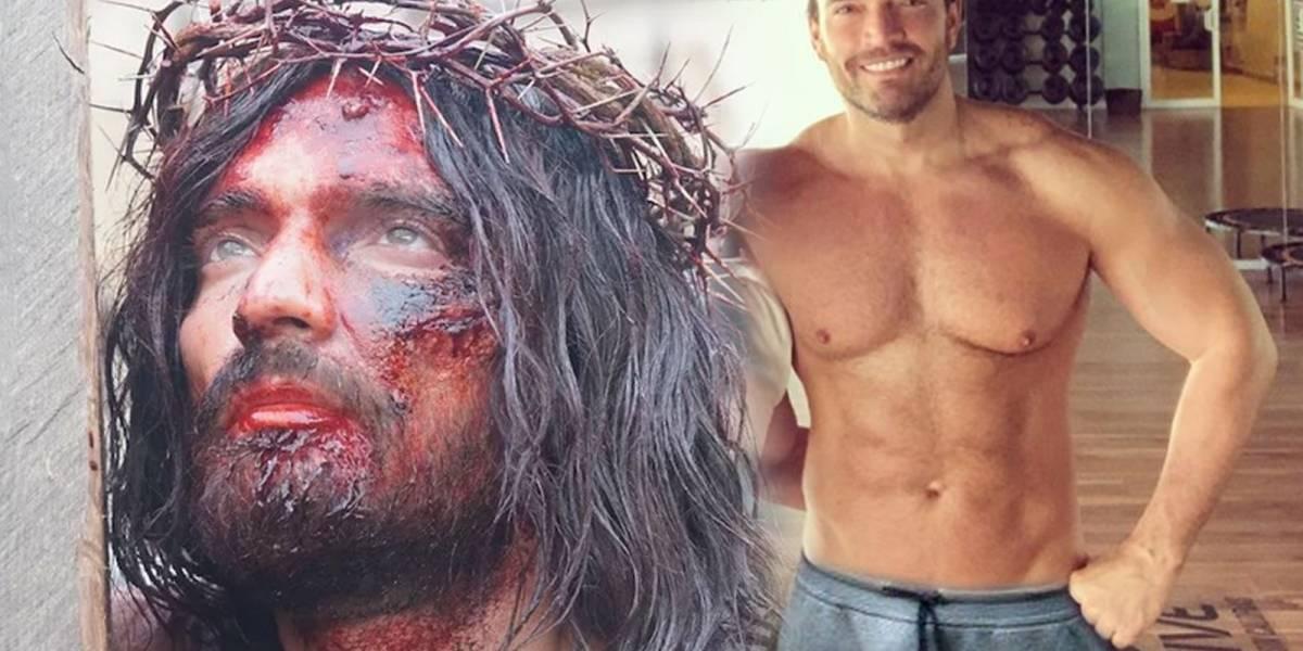 La impresionante transformación de Julian Gil como Jesús de Nazareth