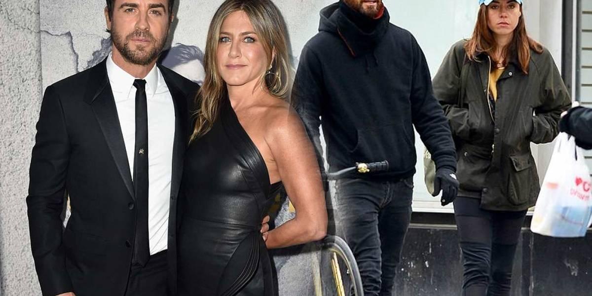 Justin Theroux ya le tiene reemplazo a Jennifer Aniston a un mes de terminar