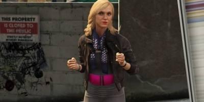Personagem Lacey Jonas em 'GTA V'