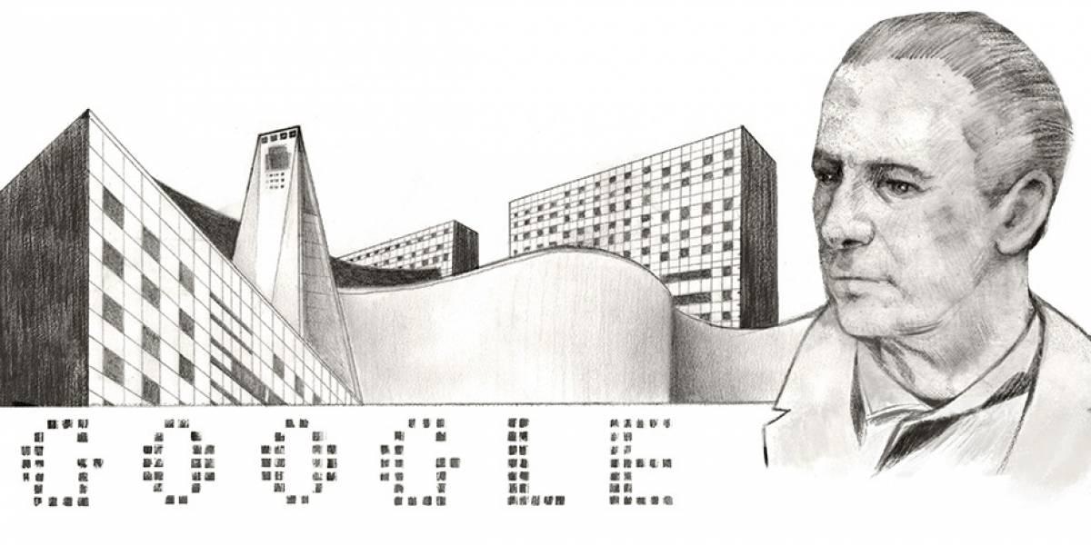 """Google rinde homenaje a Mario Pani, """"el arquitecto de la Ciudad de México"""""""