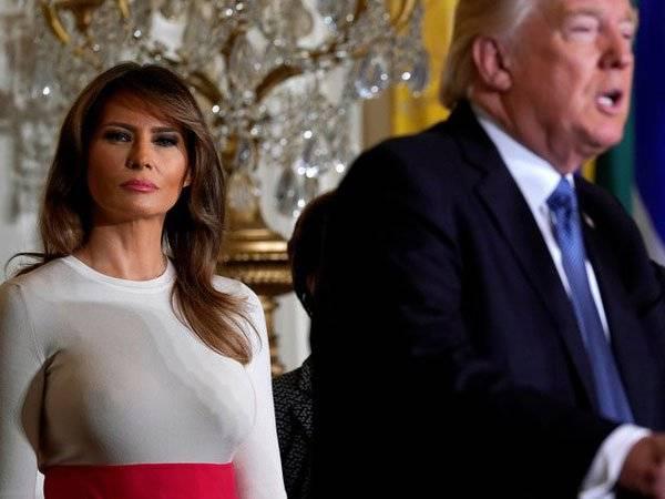 Melania Trump, Donald Trump,