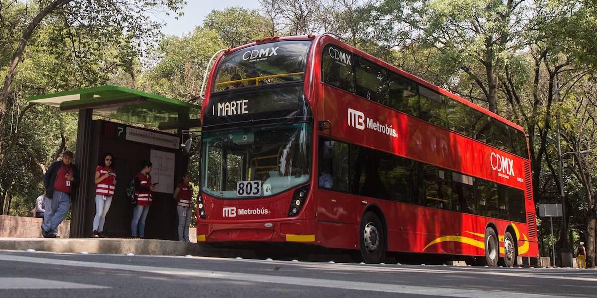 Metrobús suspenderá servicio de manera temporal por Maratón