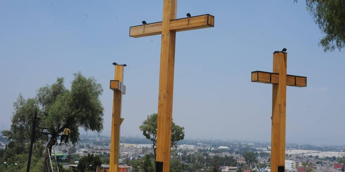 Afectaciones viales en Iztapalapa por representación de la Pasión de Cristo