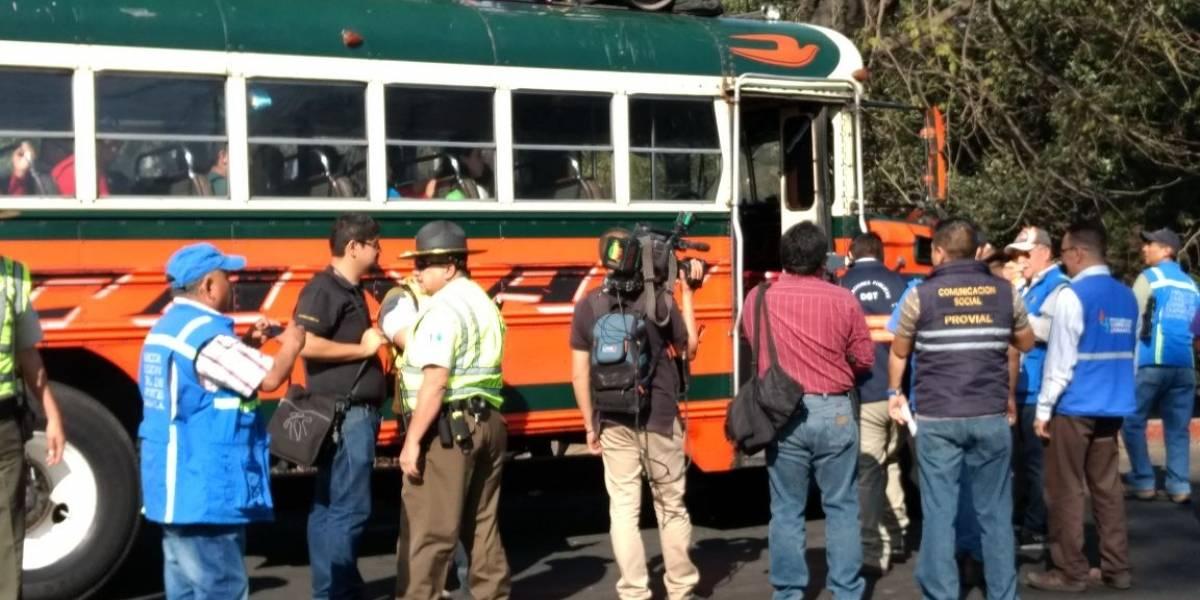 PDH reporta cobros excesivos de pasaje en buses hacia diferentes áreas del interior