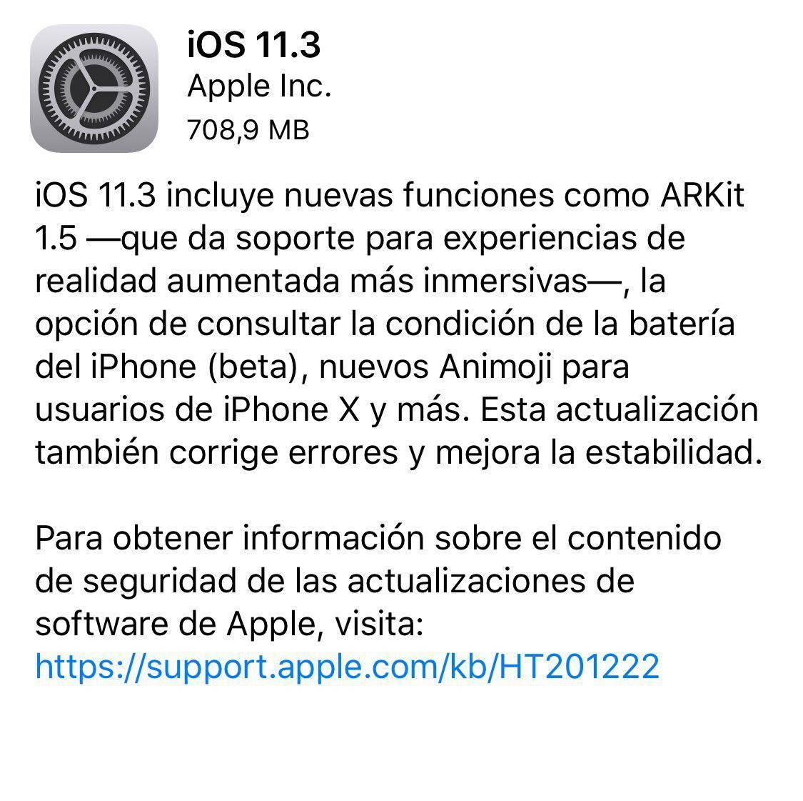 Atención usuarios de iPhone: iOS 11.3 ya está disponible