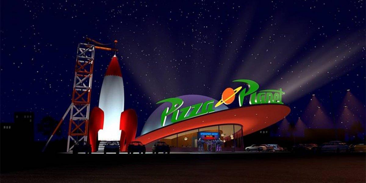 ¡Atención fans de Toy Story! Disney abrirá un restaurante igual a Pizza Planet