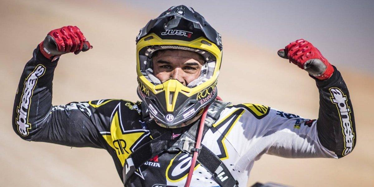 Empezó a fondo: Quintanilla inició la defensa del título mundial siendo campeón en Abu Dhabi