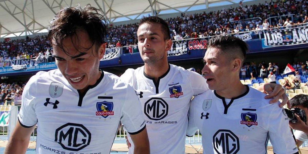 Guede se decide por la línea de cuatro en Colo Colo y Suazo será la gran novedad para enfrentar a la UC