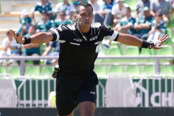El árbitro representará a Chile en el Mundial / imagen: Photosport