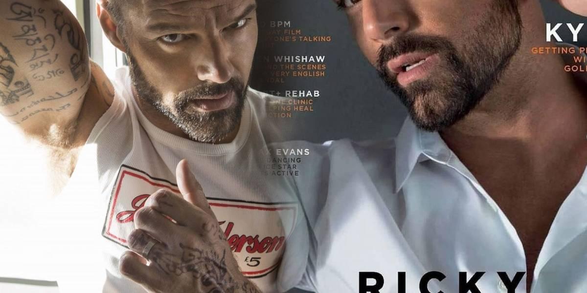 Las sexys arrugas de Ricky Martín que confirman que está en su mejor momento