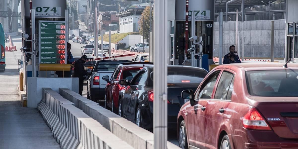 México Cuernavaca y México Toluca, las autopistas más saturadas este jueves