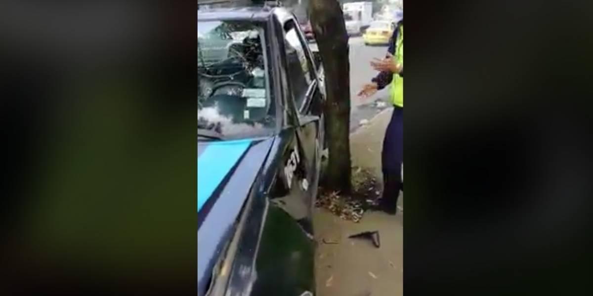 Video de supuesto agente en estado de embriaguez se hace viral