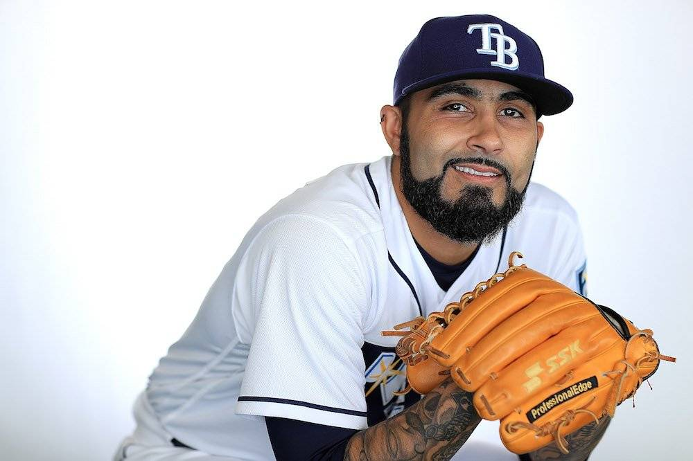 Sergio Romo, Mantarrayas de Tampa Bay / Getty Images