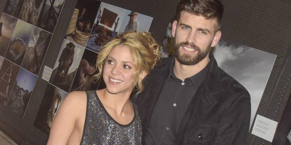 Con una foto Gerard Piqué responde a rumores de su separación con Shakira