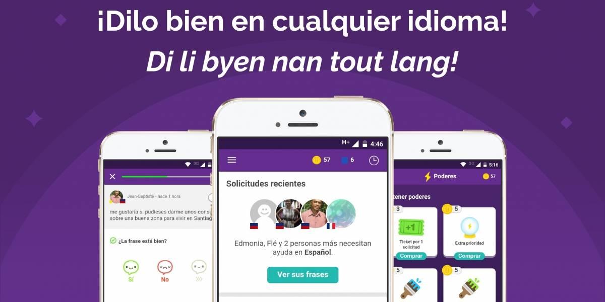 Yask, la aplicación que facilita la comunicación entre chilenos y haitianos