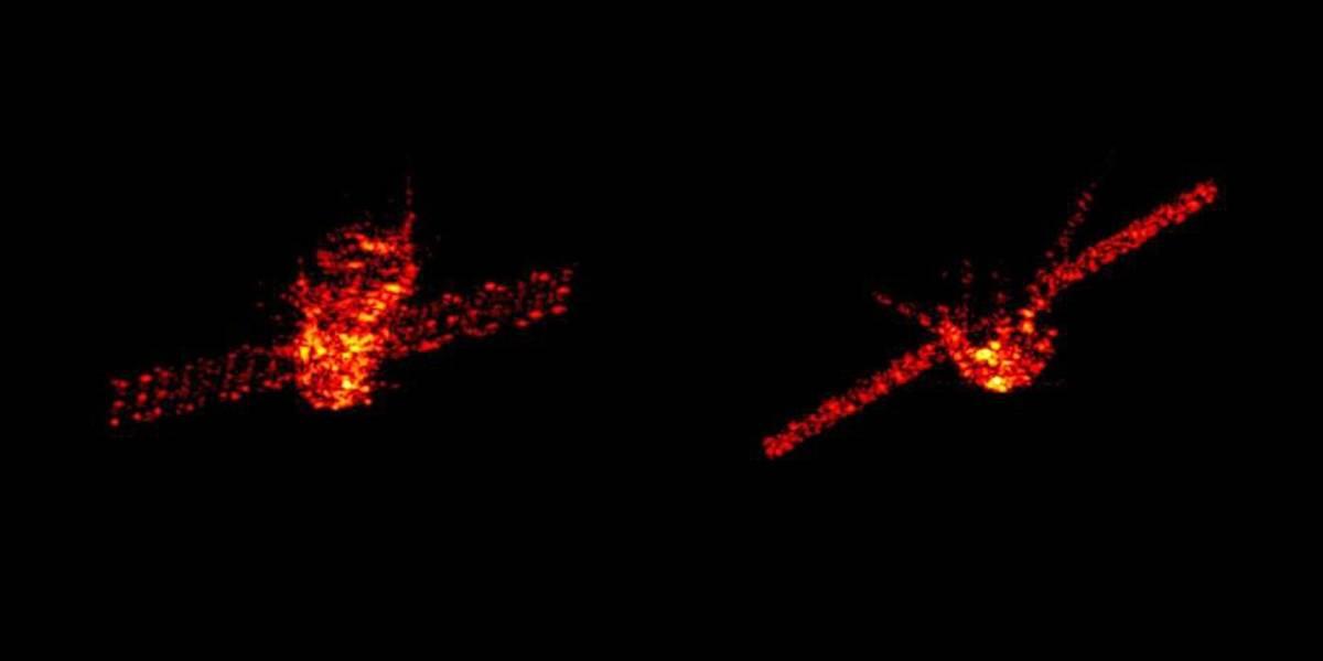 Cientistas divulgam imagens de radar da estação espacial Chinesa