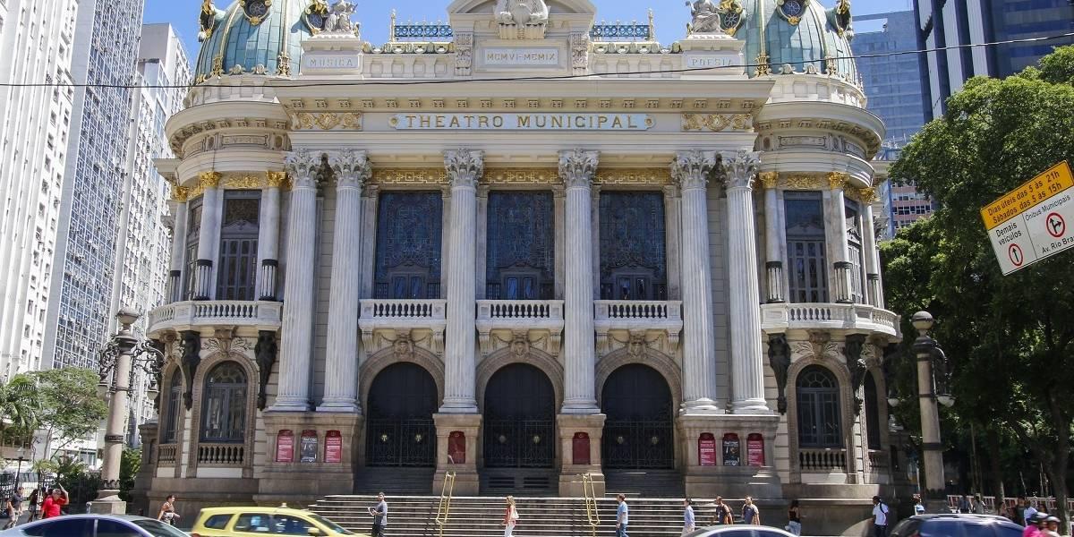 O Teatro Municipal do Rio de Janeiro, entre realidade e discurso