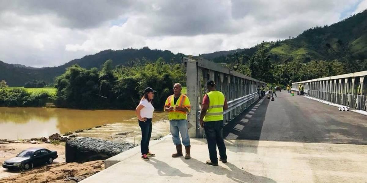 Anticipan pronta apertura de puente provisional en Morovis