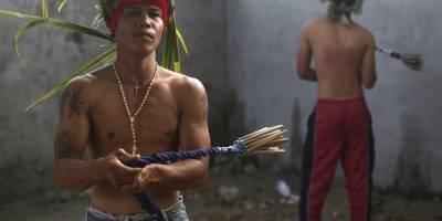 Viernes Santo en Filipinas