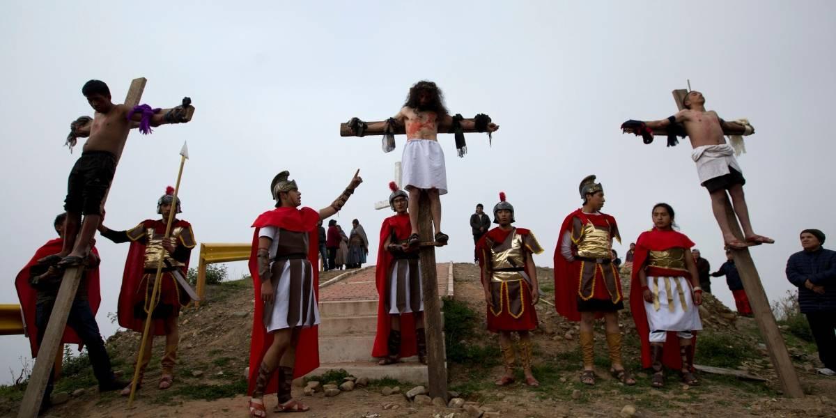 Las mejores imágenes del Viernes Santo en América Latina