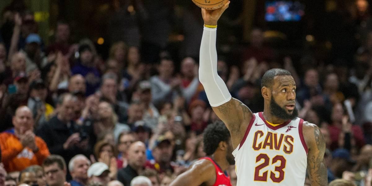 LeBron rebasa a Jordan: 867 partidos seguidos con 10 puntos o más
