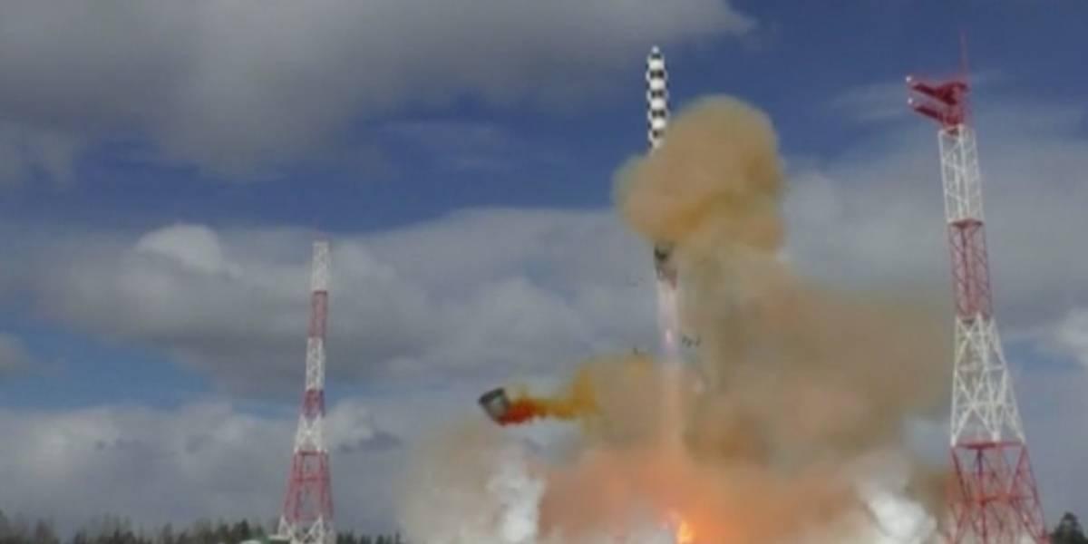 """""""Satanás 2"""": El poderoso misil hipersónico ruso que podría destruir Reino Unido en 19 minutos"""