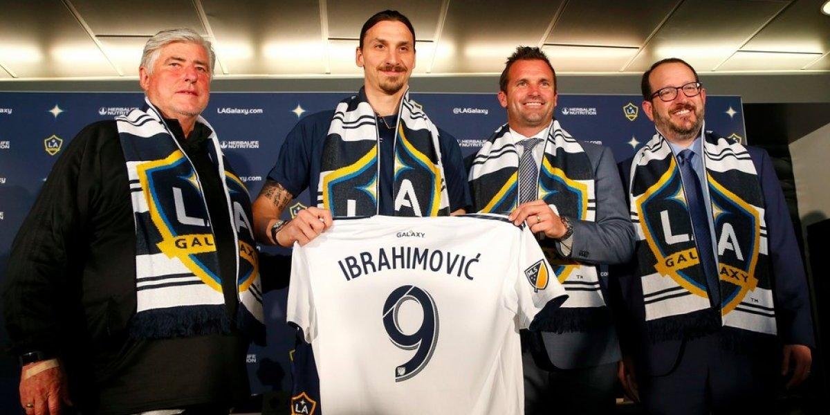 FOTOS: Así fue la presentación de Zlatan Ibrahimovic con L.A. Galaxy
