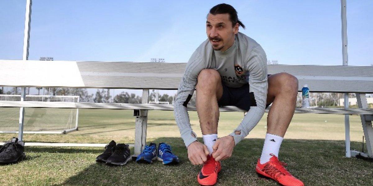"Zlatan Ibrahimovic en su presentación en Estados Unidos: ""Me siento como Benjamin Button"""