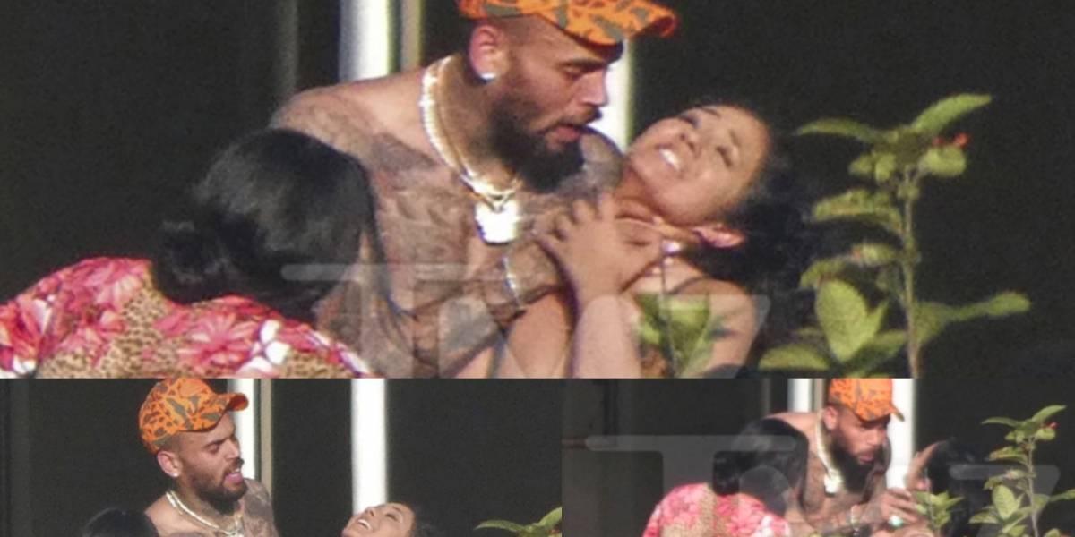 ¡Indignante! Queda registrado otro episodio de violencia de Chris Brown