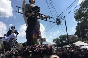 procesión del Señor Sepultado de San Felipe de Jesús