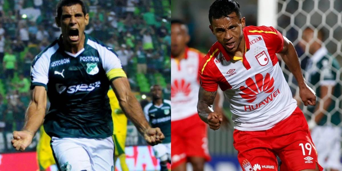 Deportivo Cali VS Independiente Santa Fe, se roba las miradas en la fecha 12