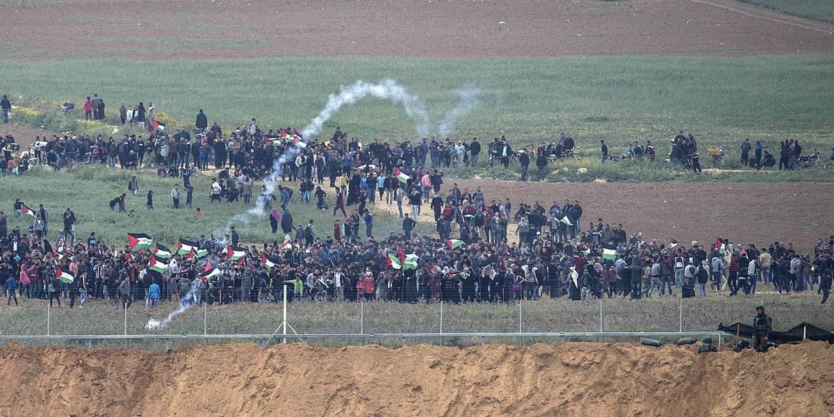 Gran Marcha del Retorno: 15 palestinos murieron y más de 750 resultaron heridos tras enfrentamientos con soldados israelíes en la Franja de Gaza