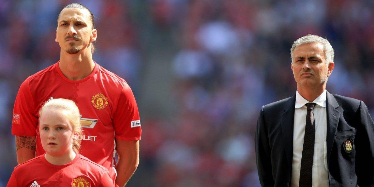 """Mou dejó la rudeza de lado y lamentó partida de Zlatan a la MLS: """"Es una pena cuando los grandes se van"""""""