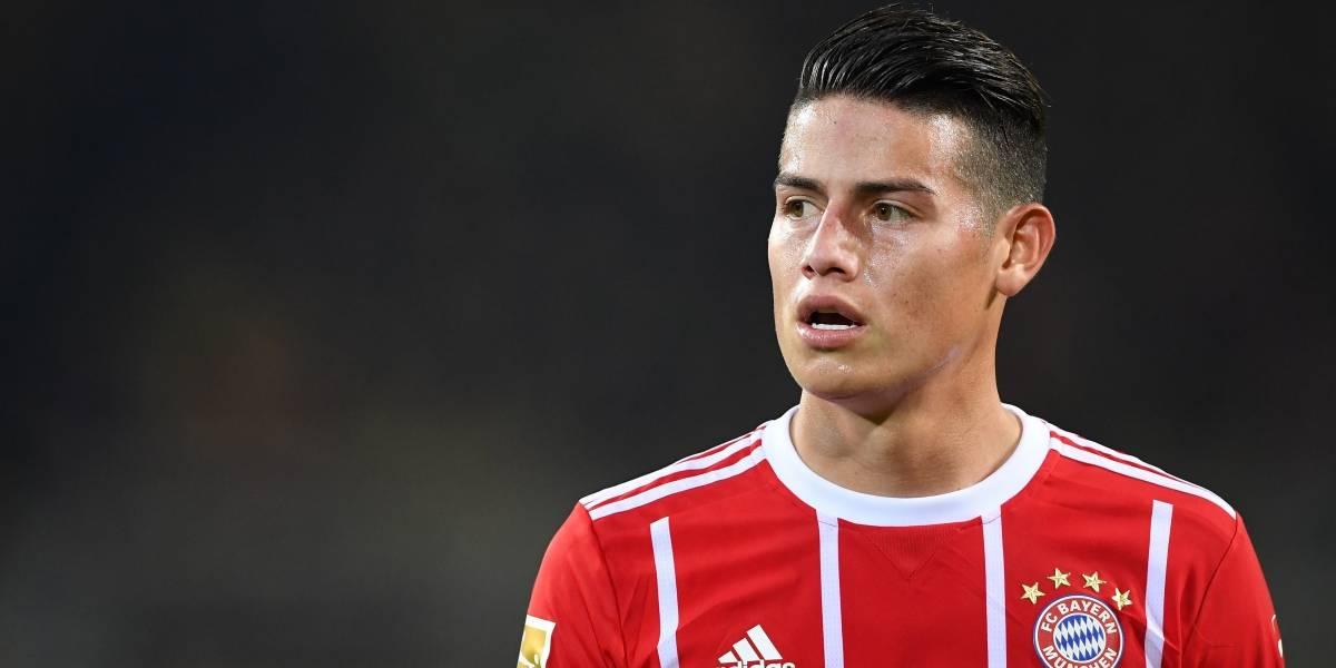 James Rodríguez y Bayern Múnich miden fuerzas contra Borussia Dortmund