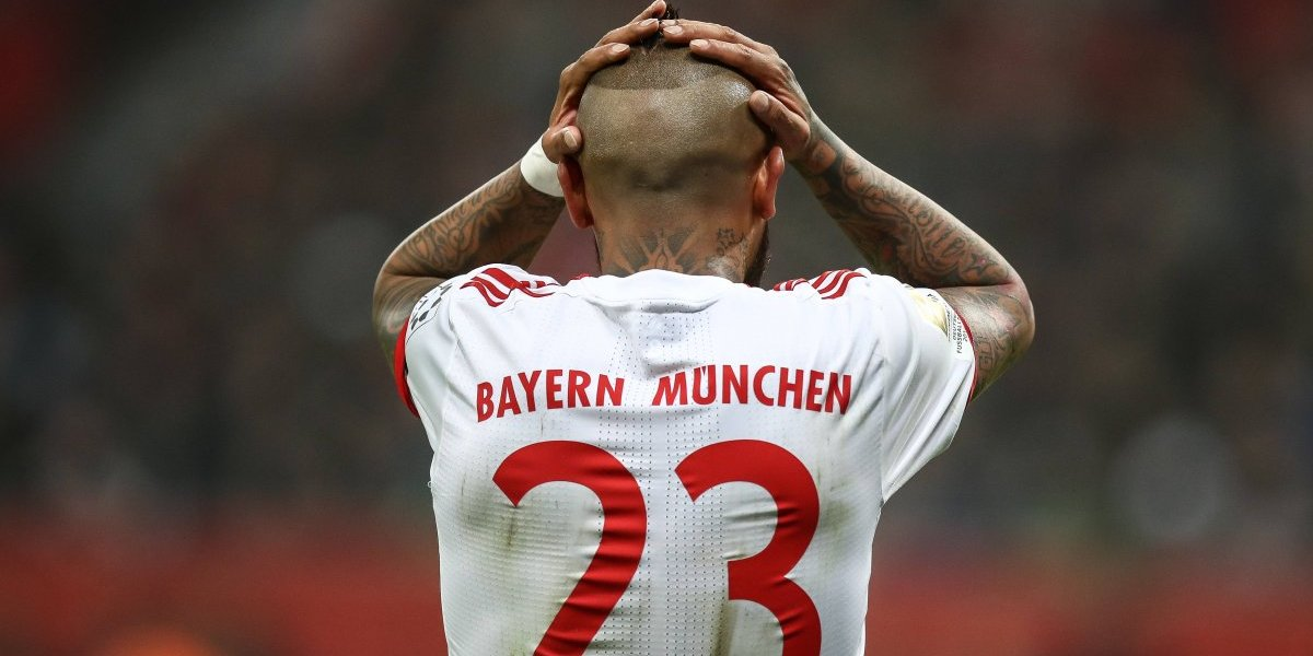 Arturo Vidal llegó con problemas físicos desde la Roja y se perderá el clásico ante Borussia Dortmund