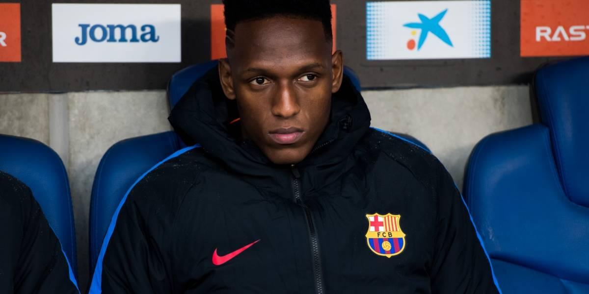 Yerry Mina no fue convocado para Barcelona VS Sevilla por La Liga